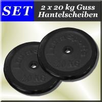 PESI 2x20kg dishi manubrio colata pesi manubri bilancer