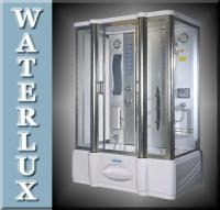 Waterlux® CABINA BOX DOCCIA VASCA DOCCIA 90x150x210cm
