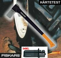 Spaltaxt 2400 - Fiskars optimal für Brennholz - Kaminholz