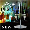 BAR BUTLER PORTA A BOTTIGLIE PER 2 BOTTIGLIE DISPENCER